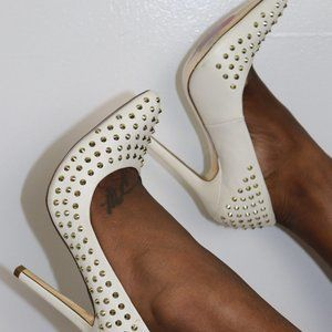 Sexy Luichy Studded Pumps